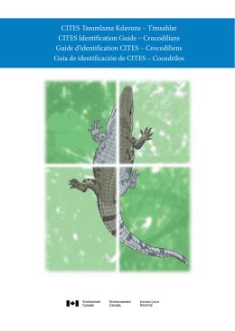 CITES Tanımlama Kılavuzu – Timsahlar CITES Identification Guide