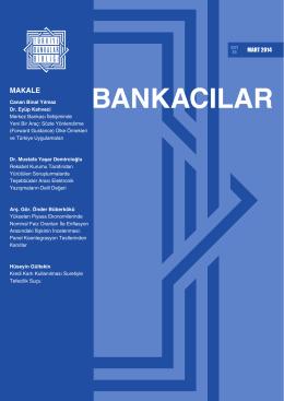 28.03.2014 Bankacılar Dergisi
