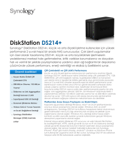 DiskStation DS214+