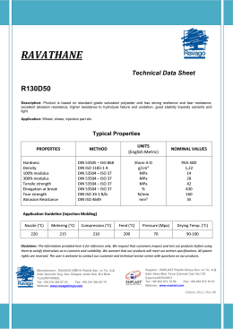 R130D50 - Ultrapolymers