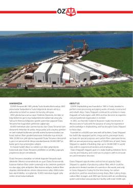 Katalog - Özata Shipyard