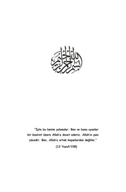 islam akidesinin temelleri