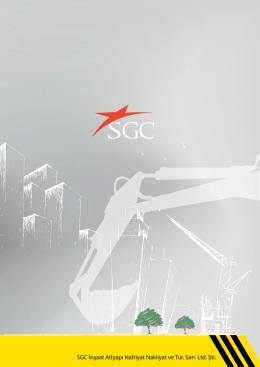 E-Katalog - SGC Insaat Altyapi Hafriyat Nakliyat ve Tur.San.Ltd.Sti.