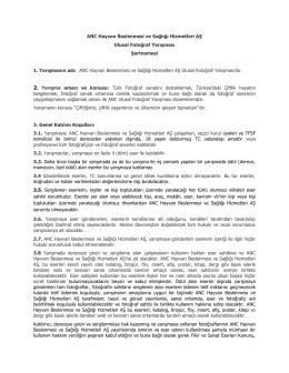 Türkçe Şartname Katılım Formu (TR) Linki