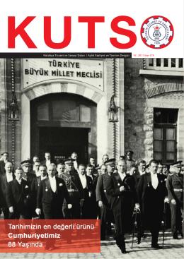kutso dergi sayı 174 - Kütahya Ticaret ve Sanayi Odası