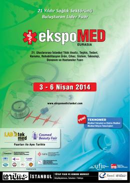 PDF broşürü - EXPOMED EURASIA