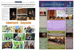 Kasım 2014 - Muğla Üniversitesi