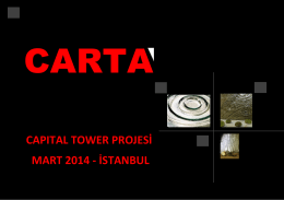CAPITAL Tower Projesi ( PDF )