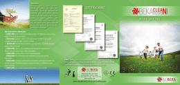 BioBeka Ürün Broşürü