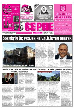 22.08.2014 Tarihli Cephe Gazetesi