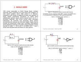 3. Boole Cebri