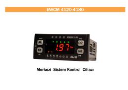 EWCM 4120-4180_TR - FRİGO SOĞUTMA SANAYİ ve TİCARET A.Ş.
