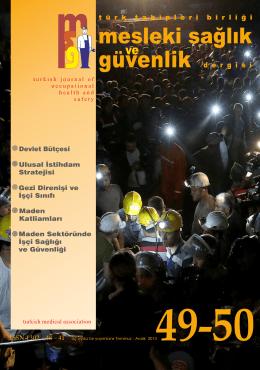 Temmuz-Aralık 2013 - Türk Tabipleri Birliği