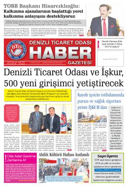Gazete 65 - Denizli Ticaret Odası