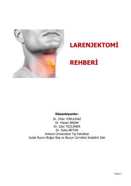 Larenjektomili Hastalar İçin Rehber