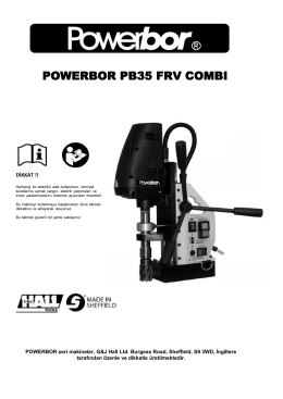 powerbor pb35 frv combı