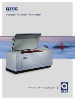 Döngüsel Korozyon Test Cihazları - Q-Lab