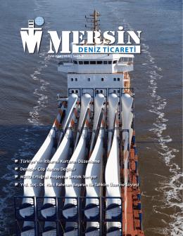 Deniz Ticareti Dergisi Eylül 2014 Sayısı