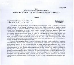 Eskişehir - Odunpazarı - Kalkanlı Mahallesi Seyitgazi Aksaklı