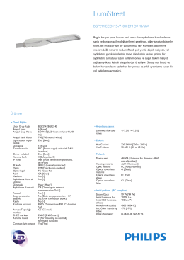 Product Leaflet: LumiStreet BGP214 road-lighting luminaire