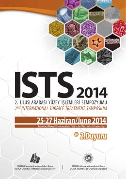 2. uluslararası yüzey işlemleri sempozyumu • 2014
