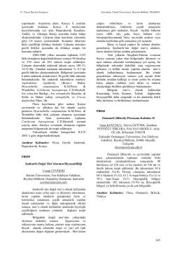 Osmaneli (Bilecik) Florasına Katkılar II