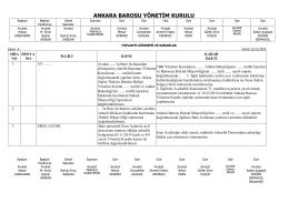 12 kasım 2014 tarihinde yapılan yönetim kurulu