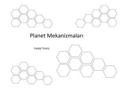 Planet Mekanizmaları