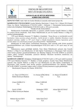 T.C. ESENLER BELEDİYESİ