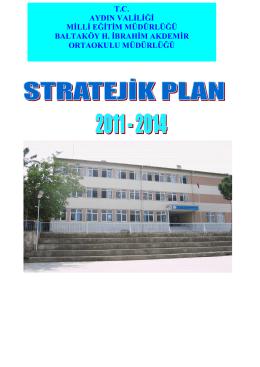 Stratejik Planımız - Milli Eğitim Bakanlığı
