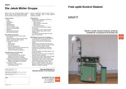 Foto optik Kontrol Sistemi MINIFIT