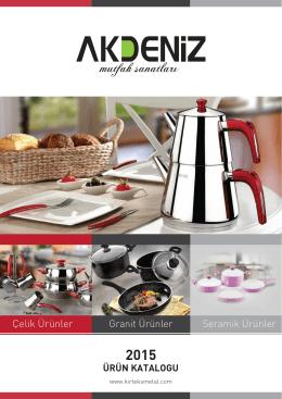 Katalog - Akdeniz, Mutfak Sanatları