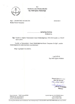 20 Lsp - Tuzluca - Milli Eğitim Bakanlığı