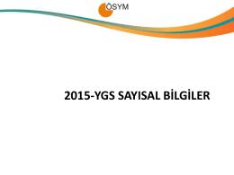 2015-YGS Sayısal Bilgiler - lys 2013 terci̇h klavuzu