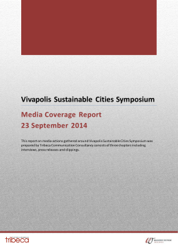 Vivapolis Sustainable Cities Symposium