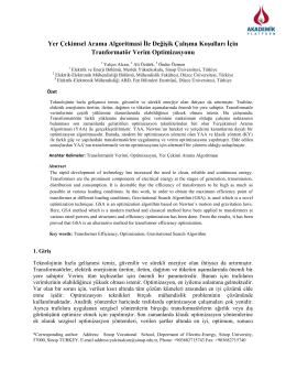Optimization Of Transformer Efficiency With Gravitational Search