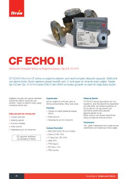 CF Echo II_TR
