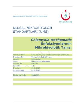 Chlamydia trachomatis enfeksiyonları