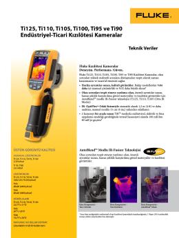 Ti125, Ti110, Ti105, Ti100, Ti95 ve Ti90 Endüstriyel-Ticari