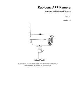 Kablosuz APP Kamera