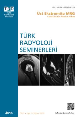 Üst Ekstremite MRG - Türk Radyoloji Seminerleri