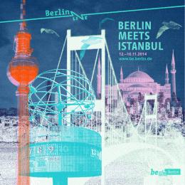 12.–16.11.2014 www.be.berlin.de
