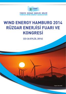 Wind Energy Hamburg Raporu / 23-26 Eylül 2014