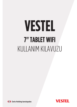 Gelişmiş Wi-Fi Ayarları - Vestel Driver Web Sitesi