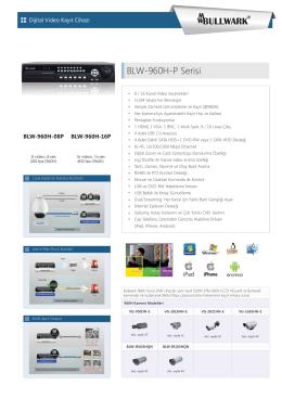 BLW-960H-P Serisi