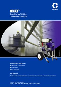 300586TR , GMAX Benzinli Havasız Püskürtme