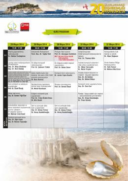 Kurs Programı - 21. Uluslararası Dişhekimliği Kongresi