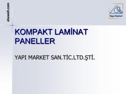 KOMPAKT LAMİNAT PANELLER