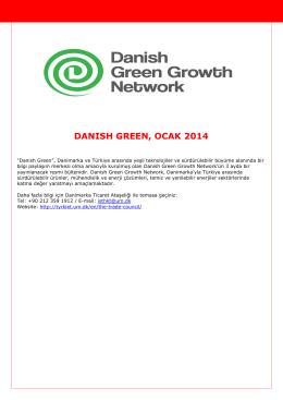 danısh green, ocak 2014