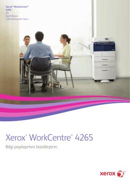 Xerox WorkCentre 4265 Siyah Beyaz Çok İşlevli Yazıcı